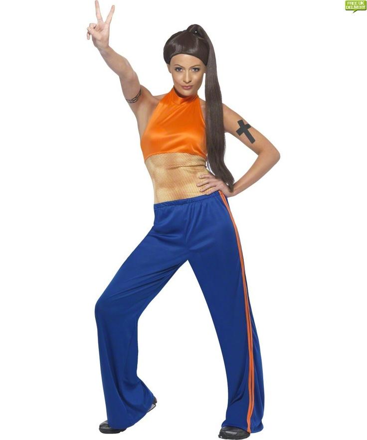 Sporty Spice Costume