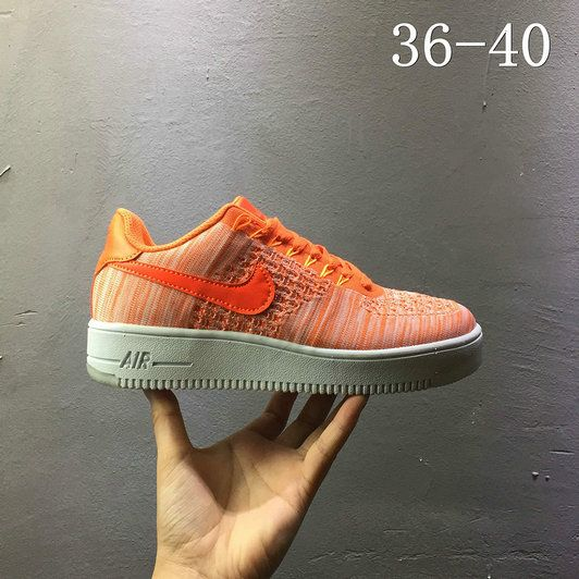 the best attitude 22b5e 815d0 Nike air force 1 AF1 Flyknit low Rattan Yellow 820256 600