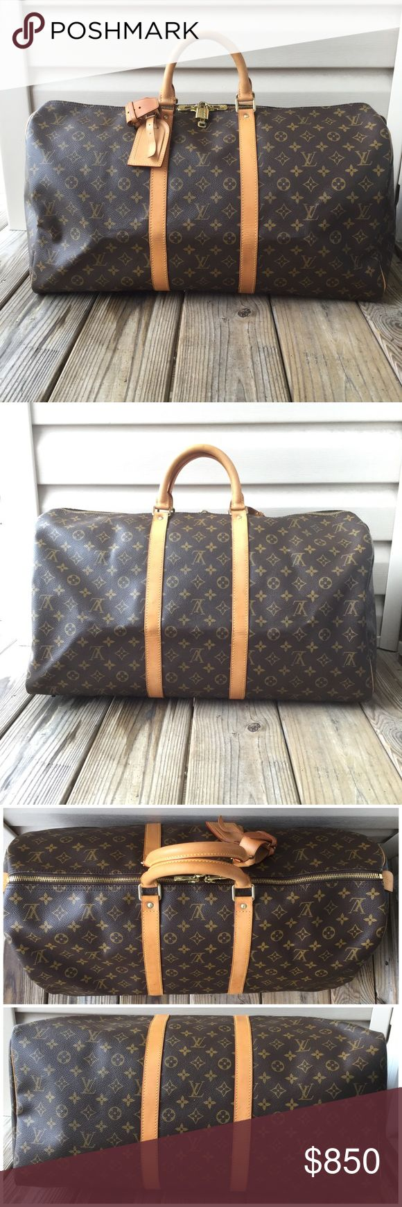 💯Authentic Louis Vuitton Keepall 55 Authentic. Date code: SP0977, Made in France. Louis Vuitton Bags Travel Bags