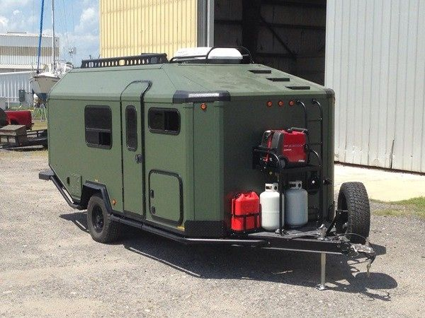 adak adventure trailers off grid traveling 001 Man Designs, Builds and Produces Off Grid Micro Cabin Trailer