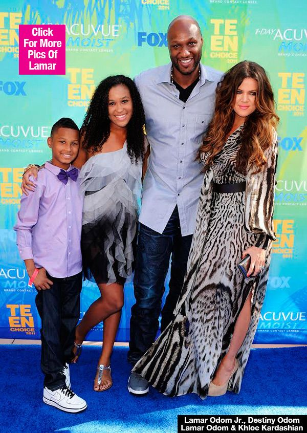 Lamar Odom's Kids Ask Fans For 'Prayers & Support' As Their Dad Remains In Coma - http://blog.clairepeetz.com/lamar-odoms-kids-ask-fans-for-prayers-support-as-their-dad-remains-in-coma/
