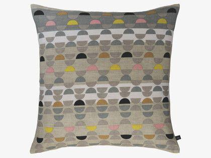 ODEON 60 x 60cm multi-coloured patterned cushion   #ourHabitat