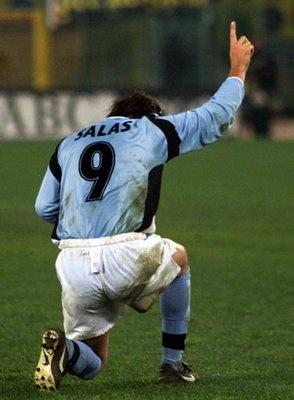 Marcelo Salas #Lazio (camiseta muy larga ;))))