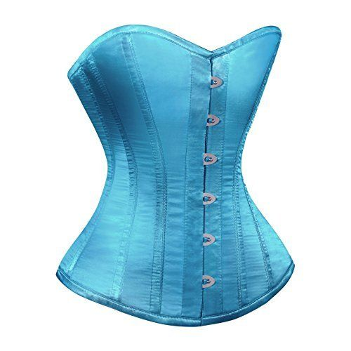 Turquoise Blue Full Steel Boned Overbust Corset Bustier Basque Burlesque Moulin Rouge Plus Size, http://www.amazon.co.uk/dp/B00B2LZC86/ref=cm_sw_r_pi_awdl_Us21tb1G8AHAE