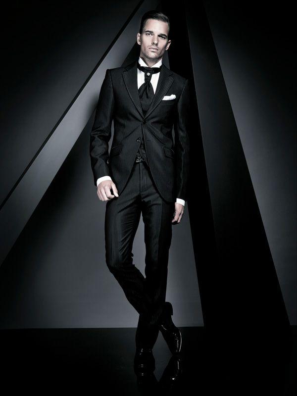 Black suit- Men's Fashion