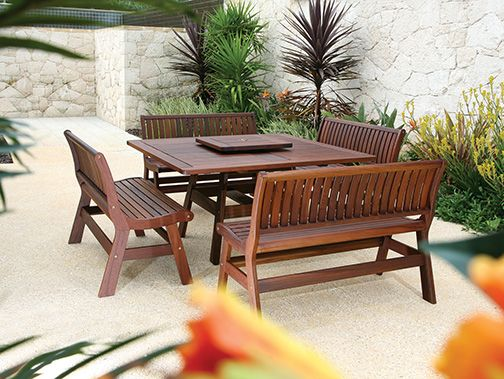 Teak & IPE Patio Furniture by Gloster and others at Fishels Contemporary