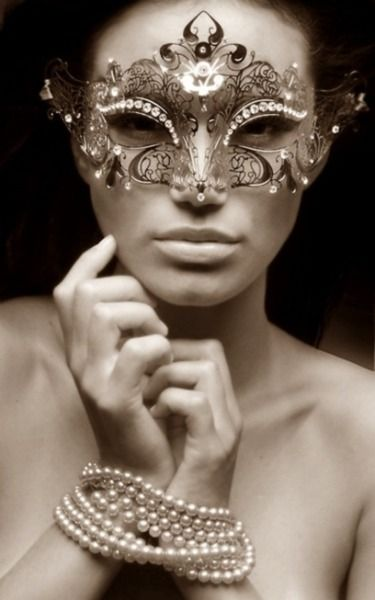 """Masquerading in Pearls....""""captivating pearls around the wrists....fetishly seductive"""" ~*~moonmistgirl~*~"""