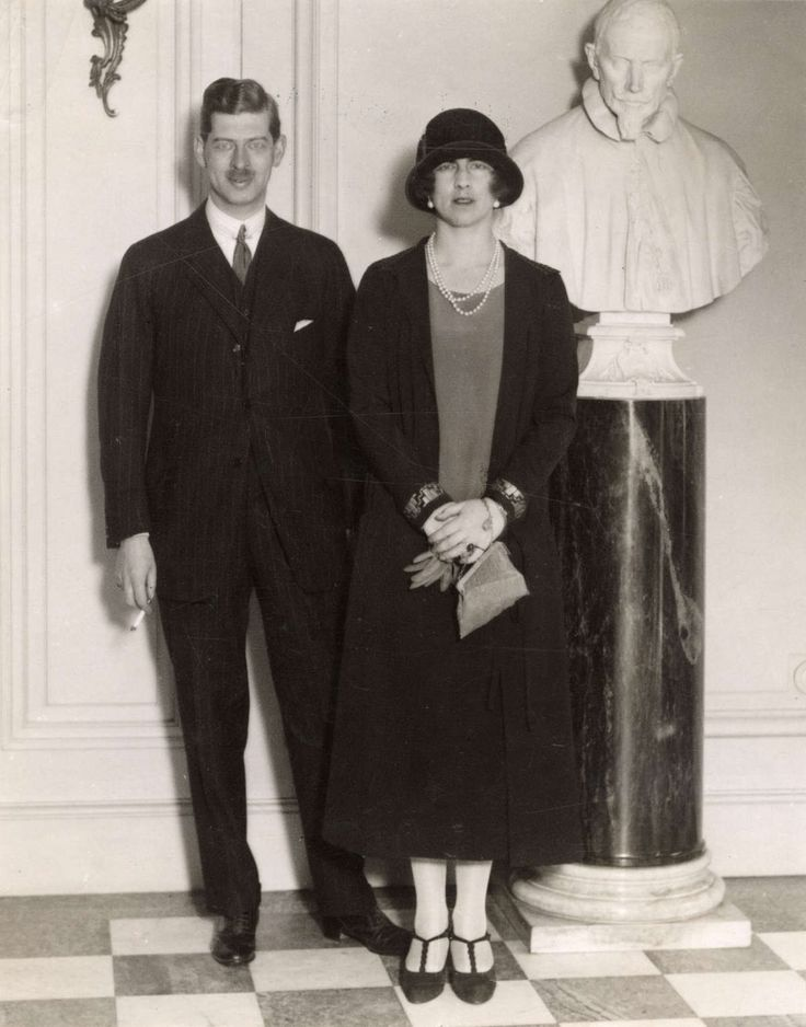 Prince Carol II of Romania and his wife Princess Helen of Greece and Denmark
