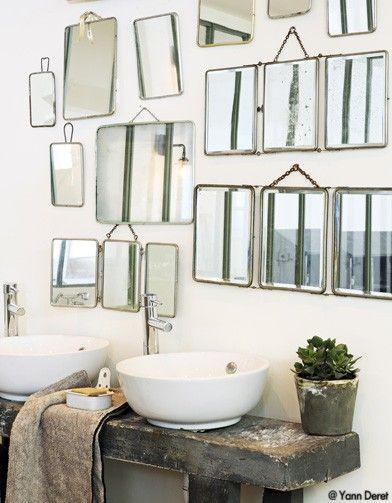 Miroirs à collectionner pour salle de bain Torres