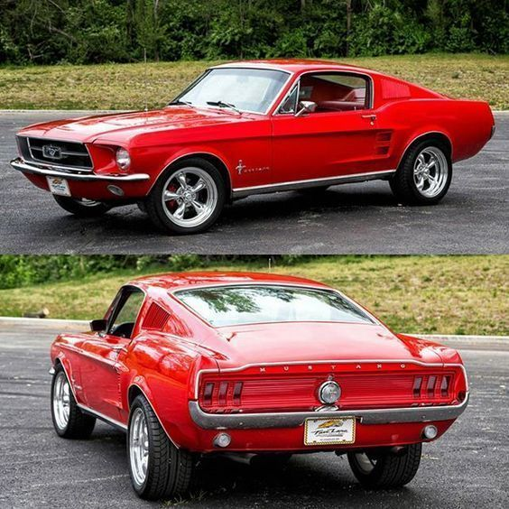 67 'Ford Mustang #Mustangclassiccars #mustang #mustangclassiccars, #Autos