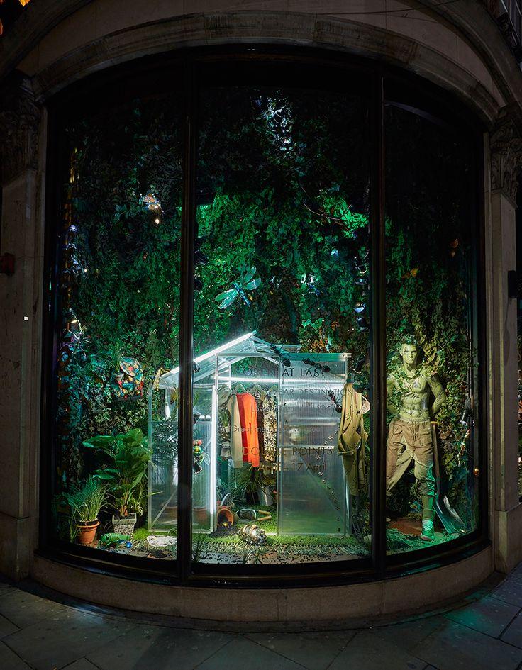 "HARVEY NICHOLS, London, UK, ""Open At Last....The New Menswear Department"", photo by HMVM, pinned by Ton van der Veer"