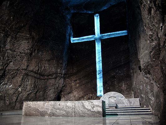 Altar catedral de sal - Colombia - Wikipedia, the free encyclopedia