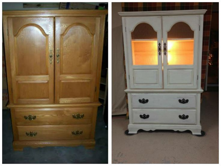 This Was Another Tv Cabinet Turned Into A Kitchen Hutch