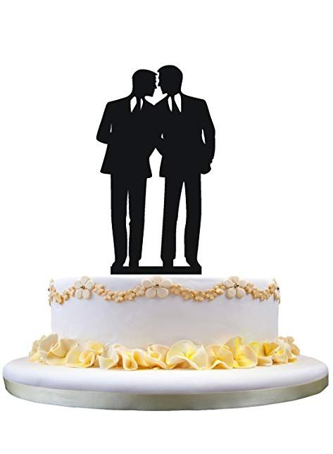 Gay Wedding Cake Topper Groom To For Men Gift Review
