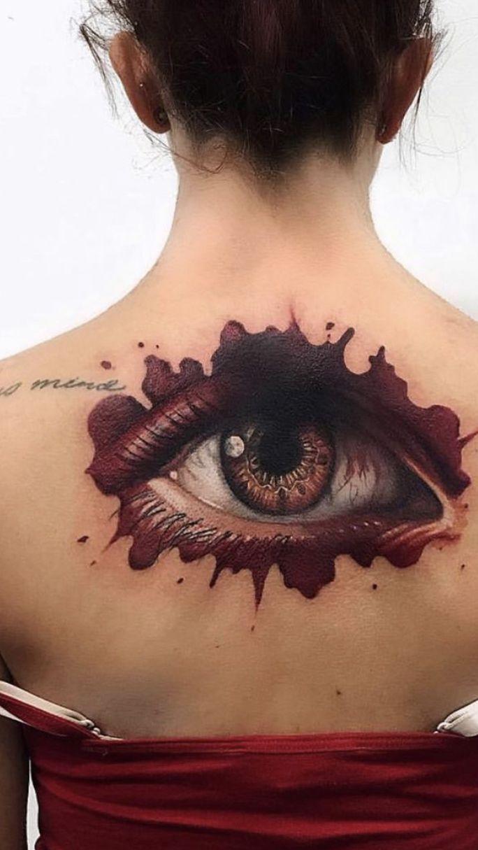 Artist Ponywave In 2020 Body Art Eye Tattoo Tattoos