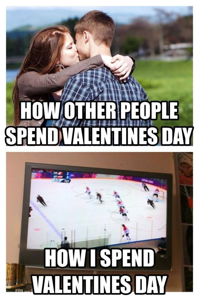 How we spend Valentine's Day, at the rink!  Love my hockey players...