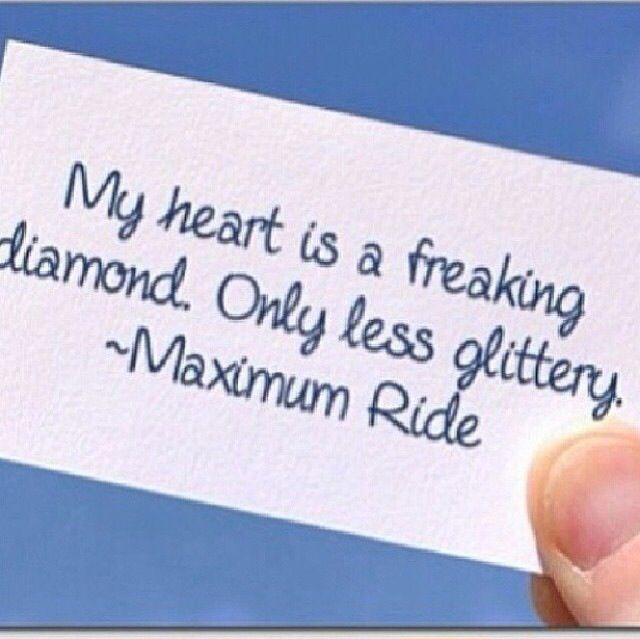Harden my heart. Fine. My heart is a freaking diamond only less glittery. Lol love this quote