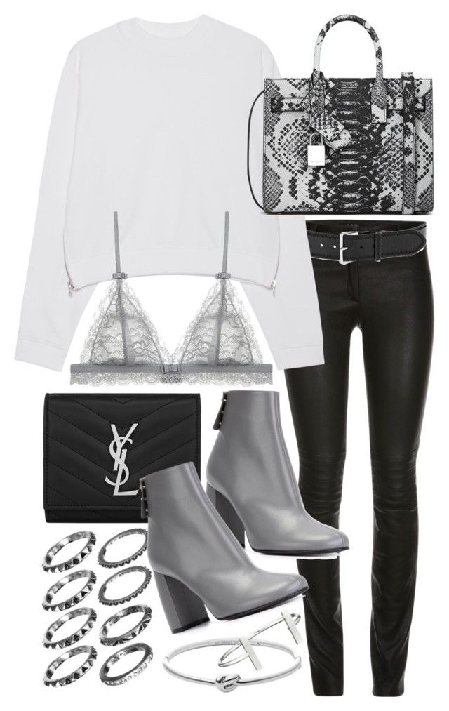 """Untitled #19582"" by florencia95 ❤ liked on Polyvore featuring Linea Pelle, Acne Studios, Yves Saint Laurent, STELLA McCARTNEY, Michael Kors, French Connection, women's clothing, women, female and woman"