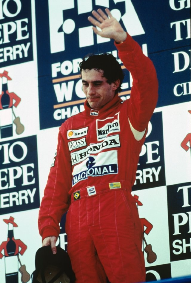 RIP Senna. World championship 1988, 1990 and 1991