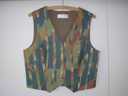 Modernist Abstract Waistcoat Ladies 10-12