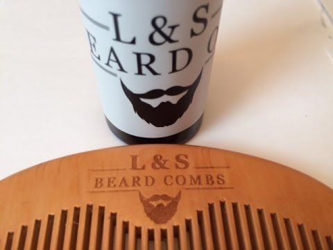 Unscented Beard Oil REVIEW | L&S Beards  Great quality #Unscented #BeardOil. #BeardComb #Beard #Bearded #BeardedLifestyle #Review Beard Oil - Unscented and hydrating! L&S Beards produces an great quality unscented beard oil, and includes a free comb! Why Beard Oil? 1) Healthy skin under the beard 2) Healthy and shiny beard hair 3) Stronger roots = stronger beard 4) Using essential oils has additional health benefits, both by inhaling and absorbing