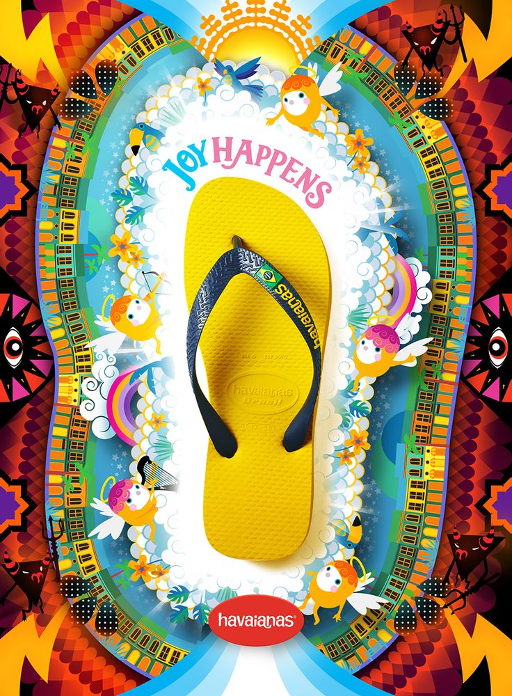 Havaianas Campaign Test on Behance
