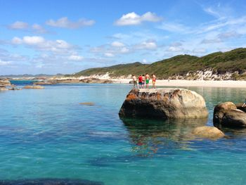 Summer at Greens Pool William Bay National Park Denmark, Western Australia