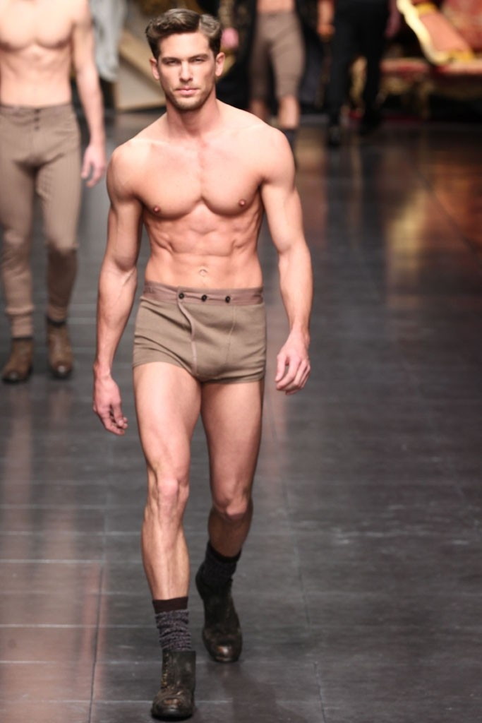My husband wants to wear these.  Really.  D&G Fall 2012