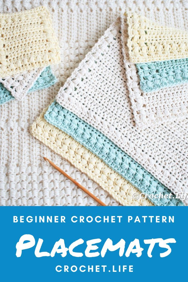 Free Hand Towel Pattern Crochet Placemat Patterns Dishcloth Crochet Pattern Placemats Patterns