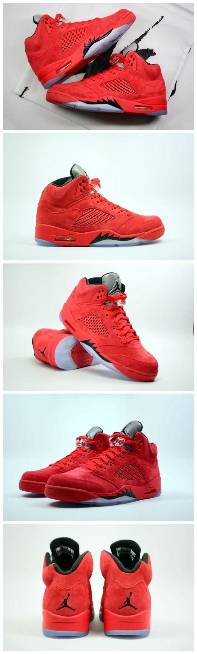 Air Jordan 5 AAAA Suede Men Shoes Free Shipping WhatsApp86 13328373859 Wechate2shoes