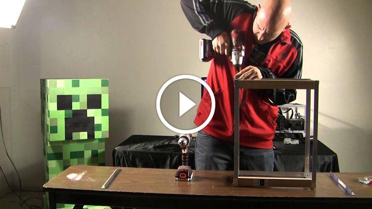 """BBT Episódio 2 Parte 1: Construindo um Ethereum, Litecoin ou Feathercoin Mining Rig                                            Neste episódio, a equipe do BBT cria uma plataforma de mineração litecoin / feathercoin usando 2x 8ft 1/8 por 3/4 ângulo de alumínio, alguns parafusos de chapa e um 1 """"Por 2"""" 8ft pedaço de pinheiro (qualquer outra madeira). Este vídeo está... bitcoin sha256 generator, calcular velocidade de mineração bitcoin, criptomoeda portugu"""