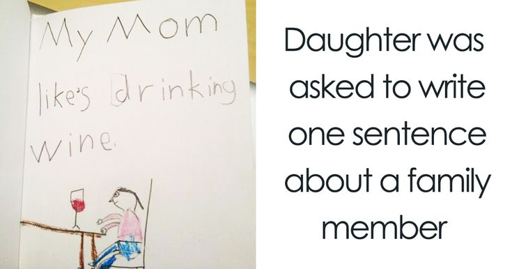 18 Times Kid Drawings Revealed Too Much About Their Parents | Bored Pachin mob cbcnda