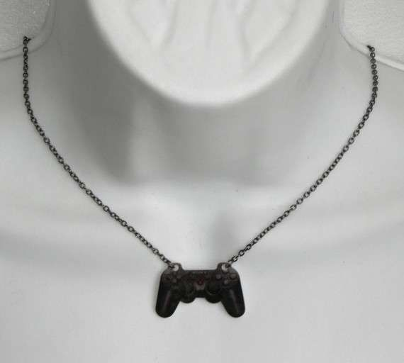DeadlyPretty Takes the World of Games to Fashionable Heights #necklace #jewelry trendhunter.com