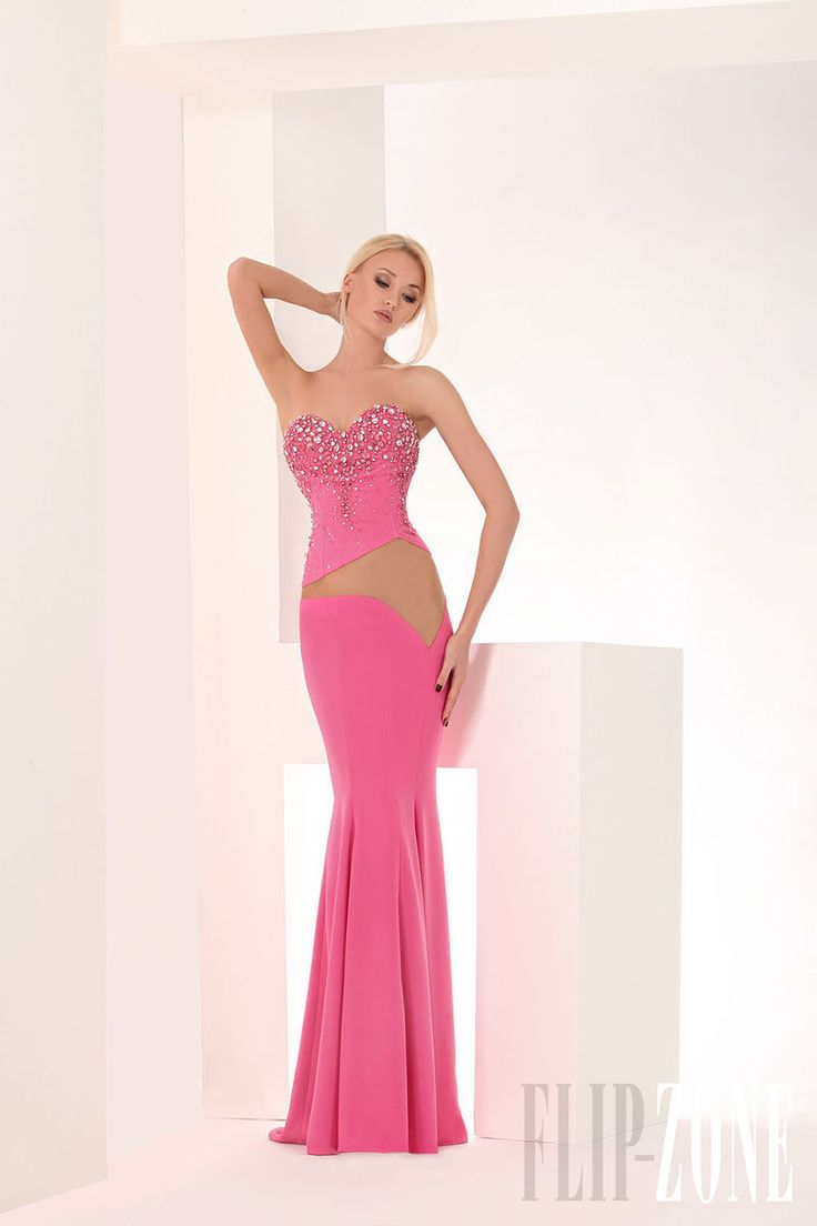 Mejores 547 imágenes de Long Pink/Peach Dresses ❀ en Pinterest ...