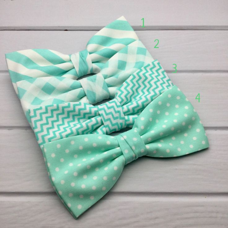 Mint Mens Bow tie, Chevron Bow Tie, Polka Dot Bow Tie, Plaid Bow Tie, Stripy Bow Tie, Wedding Bow Tie, Groom & Groomsmen Bow Tie, Kid Bowtie by GloiberryBowtie on Etsy https://www.etsy.com/uk/listing/522051682/mint-mens-bow-tie-chevron-bow-tie-polka