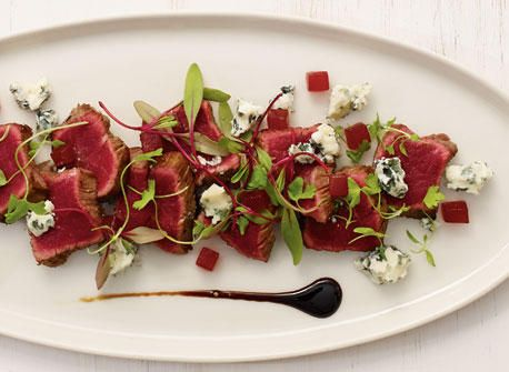 Beef tataki with Bleu d'Élizabeth cheese  recipe | All You Need is Cheese #Healthy #Meatlovers #Fancydinner