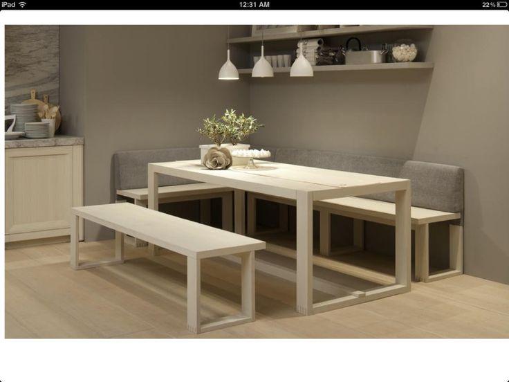 Mesa banco esquinero para cocina buscar con google for Medidas banco cocina