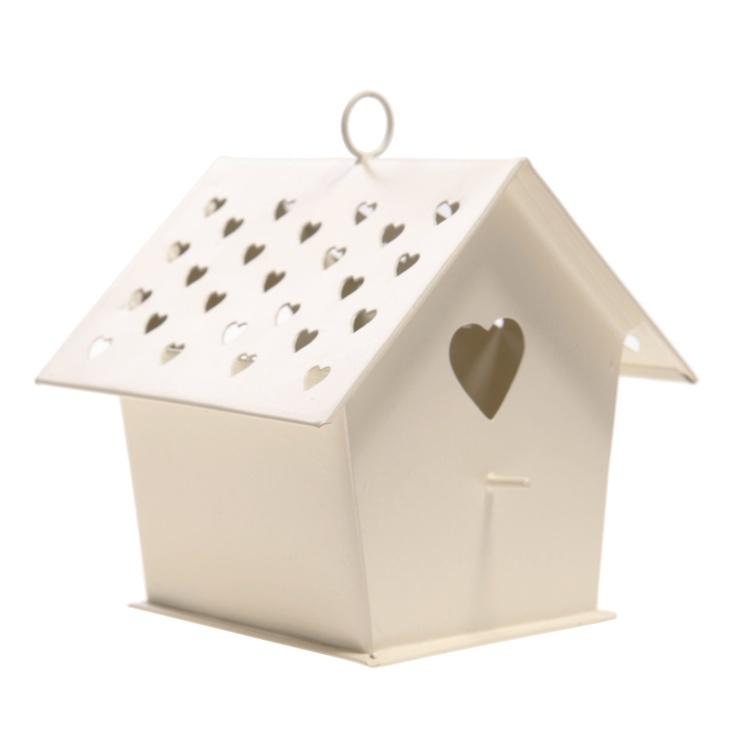 http://www.sassandbelle.co.uk/SB - Bird House tealight holder - Cream