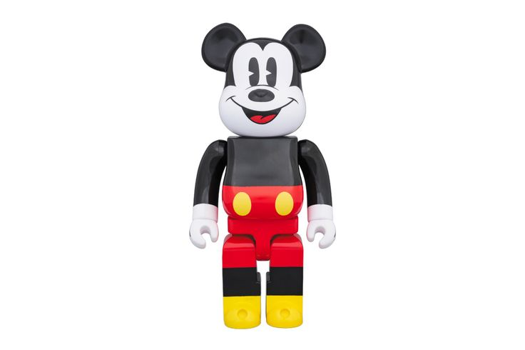 Mickey Mouse's Streetwear Cred Gets Immortalised Onto a BE@RBRICK
