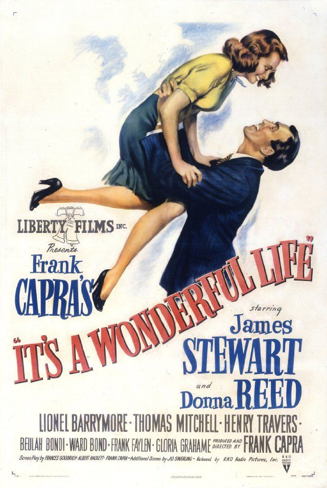 It's a Wonderful Life. One of my all time favs