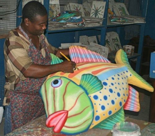 154 best paper mache images on pinterest paper crafts for Ultimate koi clay