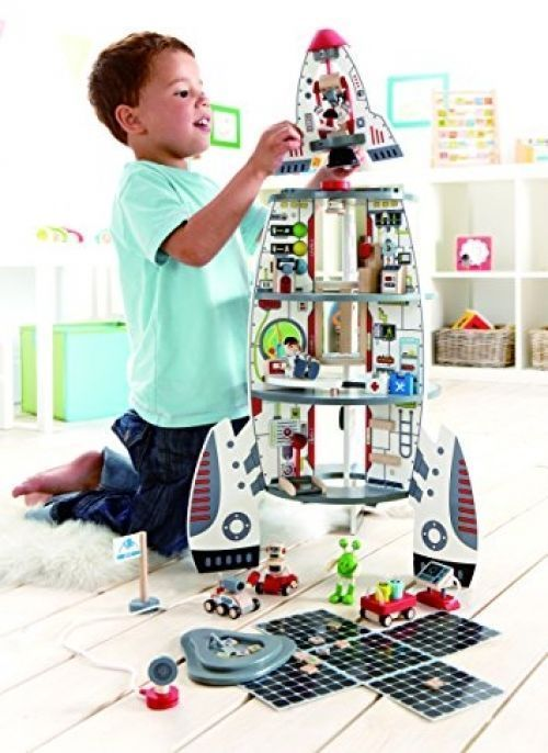 Discovery Space Center Spaceship Astronomers Kids Play Toy Universe Love Learn #Hape