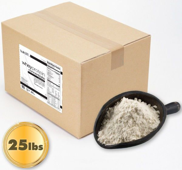 25lb Pure Whey Protein Concentrate  Bulk Direct 25-lb  #BulkFoodsDirect