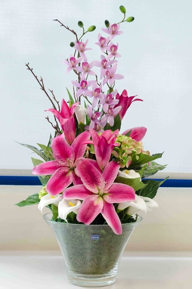 Love this latest artificial flower arrangement created by