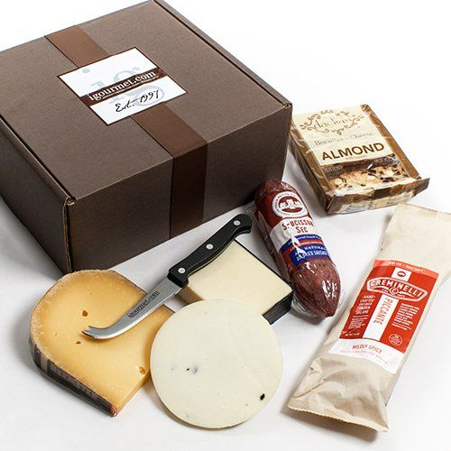 Executive Collection of Salami and Cheese in Gift Box (39 ounce)