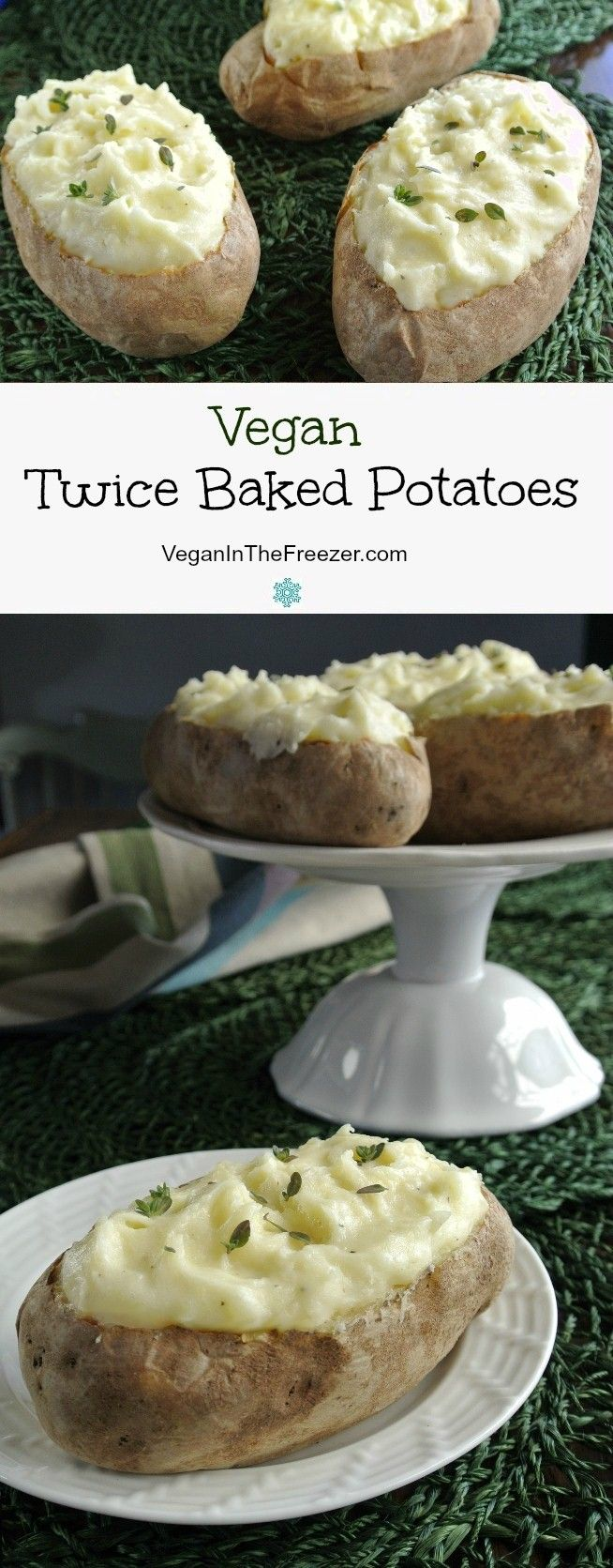 Twice Baked Potatoes are a great standby for company. Easy to pre-prepare and they are a special treat for your family too. Just slide them in the oven and relax.