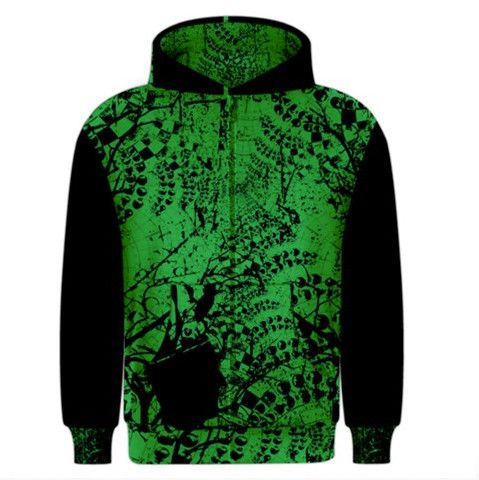Shine a light on your inner ghouls and take control of how they affect you with this Men's zippered hoodie.  Show the world that while your ghouls might be scary, they are nothing that you can't overcome.