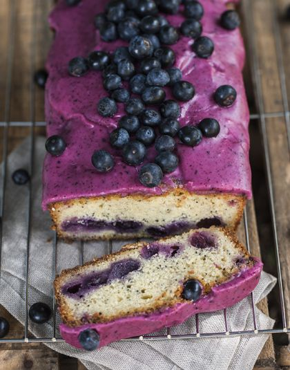 Blueberry Poppy Seed Loaf: Little and Friday Celebrations | Penguin Books New Zealand