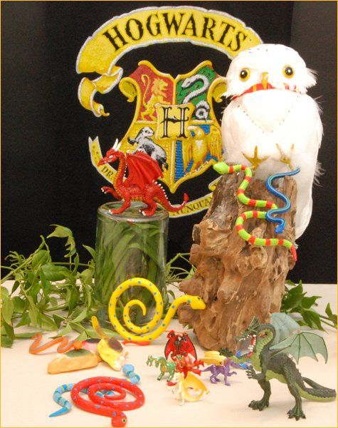 Harry Potter Birthday Party Ideas - have a magical creature hunt