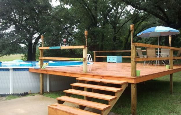 50 Best Pool Steps And Ladders Images By Ag Pool Reviews